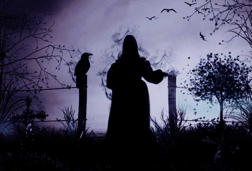 На могиле ведьмы
